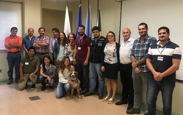 PANAFTOSA/OPS capacita países del (CVP) en Caracterización de Riesgo para la Fiebre Aftosa